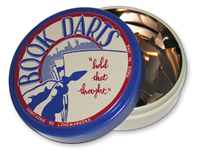 50 Count Book Darts Tin