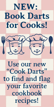 Book Darts for Cooks